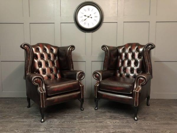Kensington Wing Chair pair