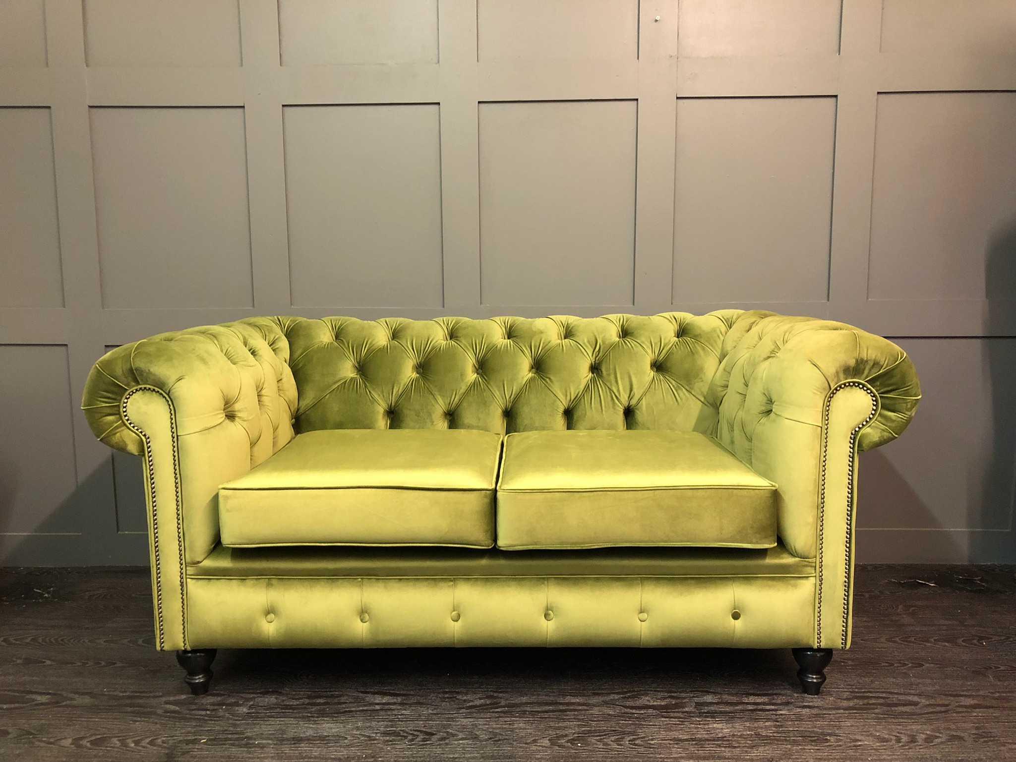The Essex Cambio Olive Chesterfield Sofa