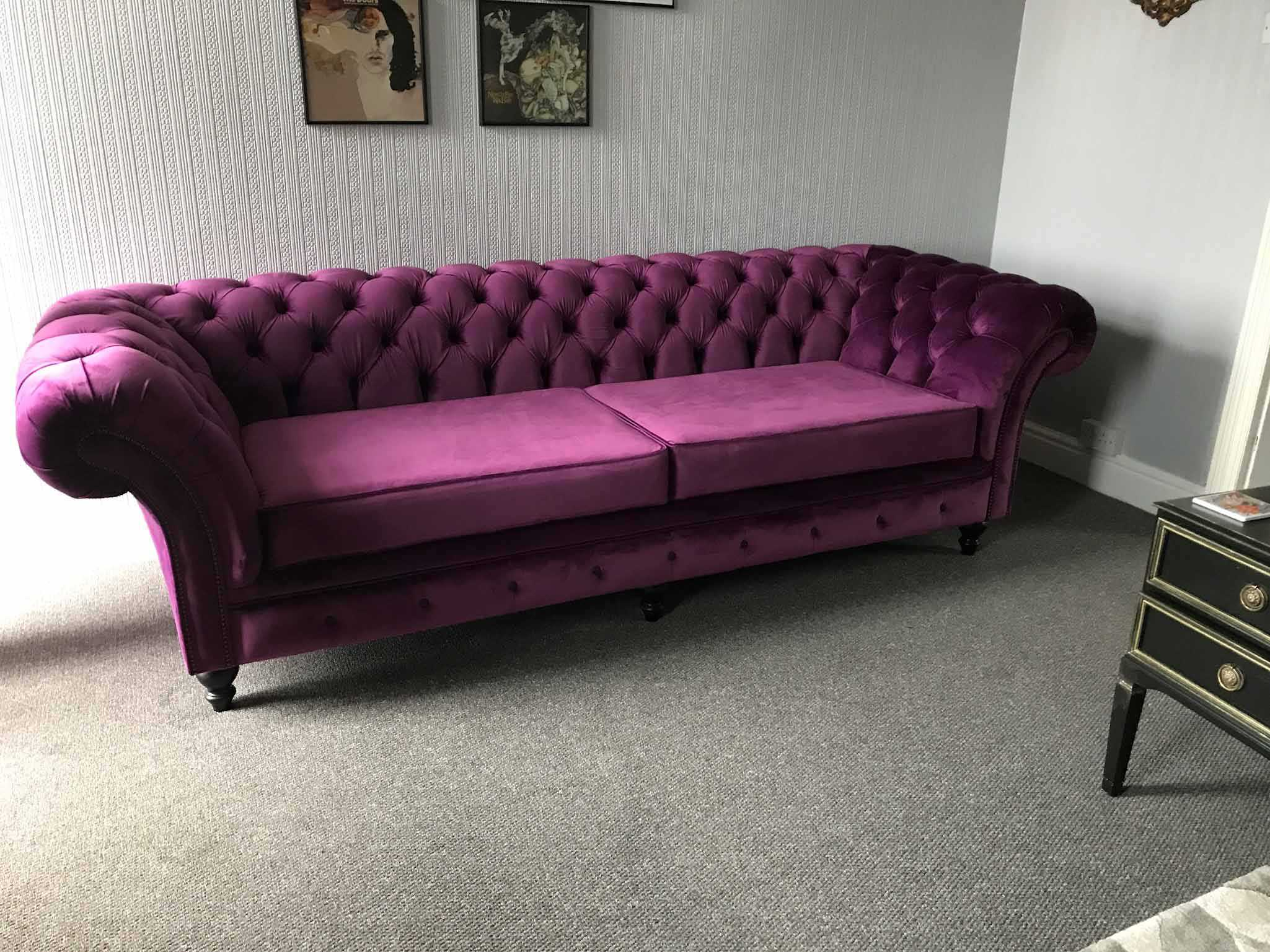 Amethyst london chesterfield sofa