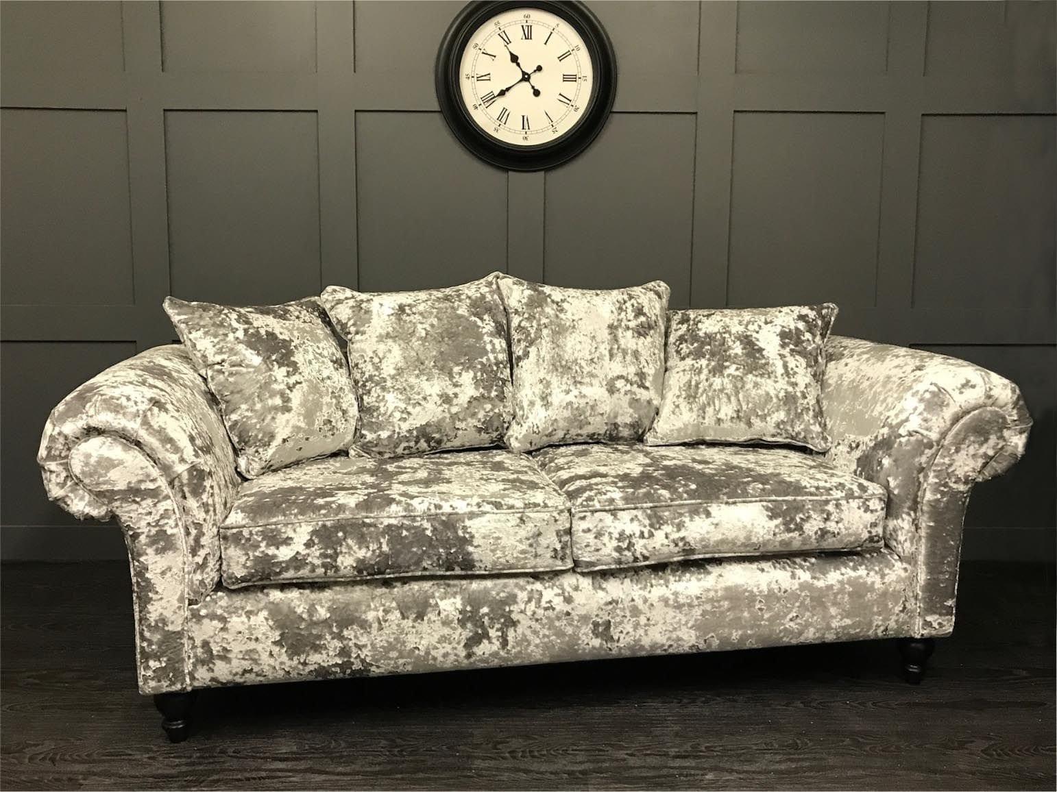 Lustro Argent Balmoral Sofa