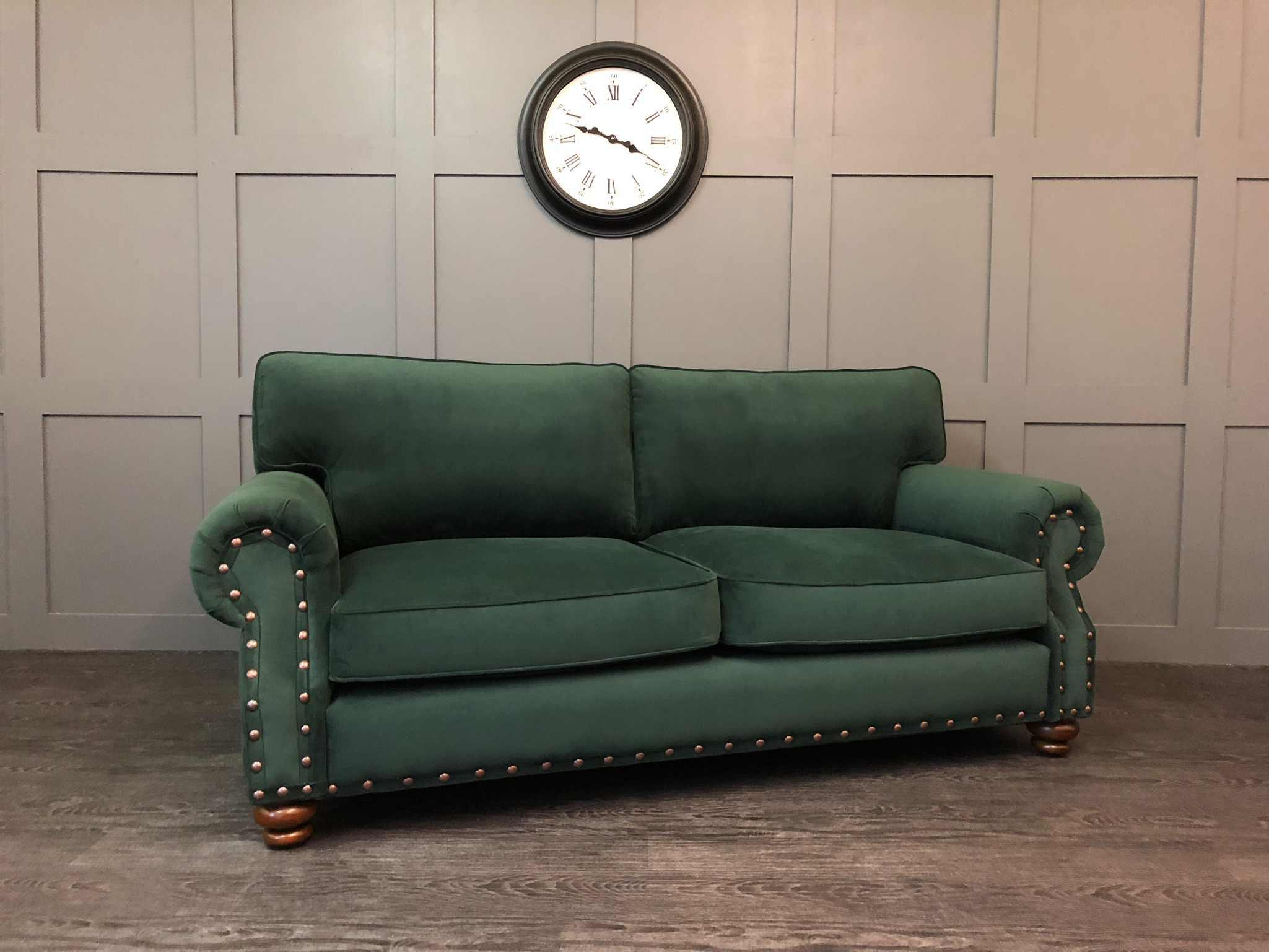 The Grosvenor - Hunter Plush Velvet