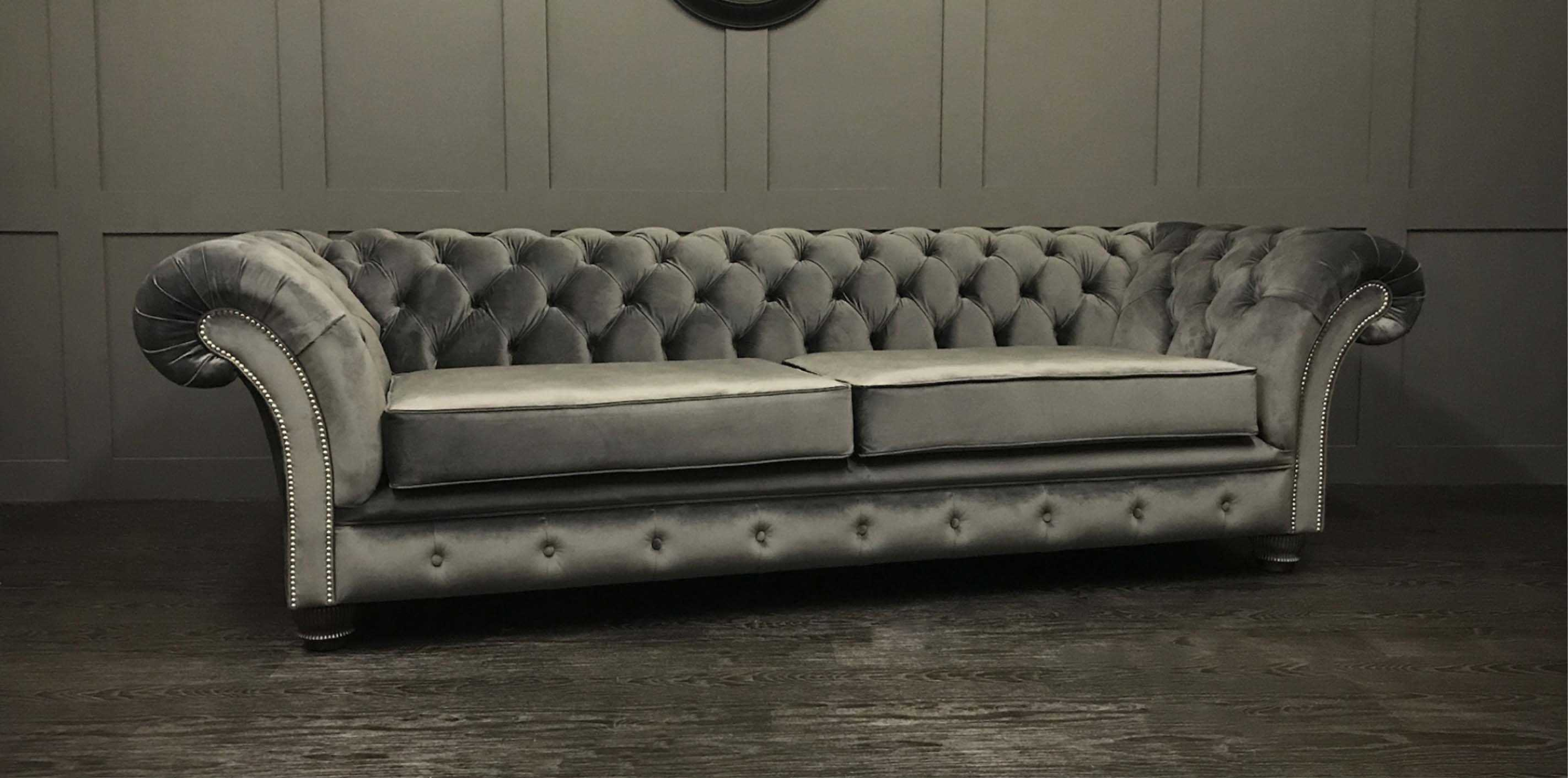 London cambio granite chesterfield sofa